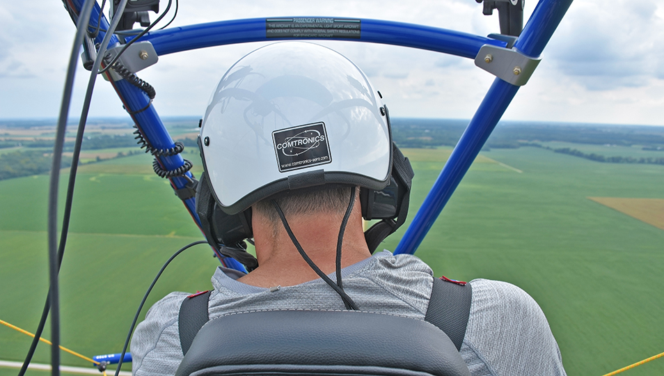 View from the Back Seat of a Powered Parachute